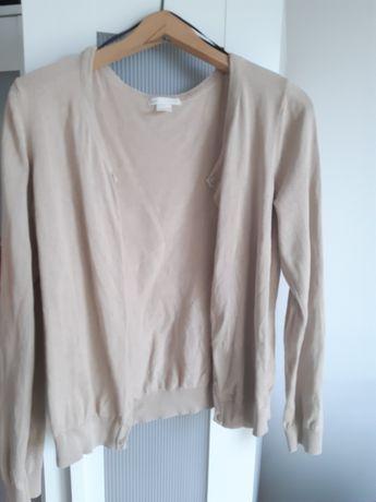 Sweterek beżowy H&M