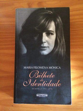 Bilhete de identidade de Maria Filomena Mónica