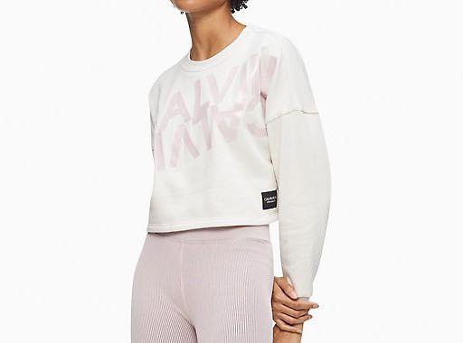 Свитшот оверсайз Calvin Klein S оригинал