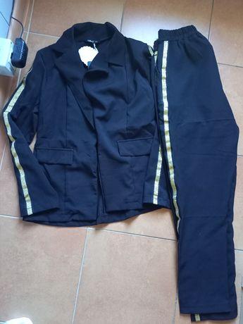 Damski komplet żakiet +spodnie S/M