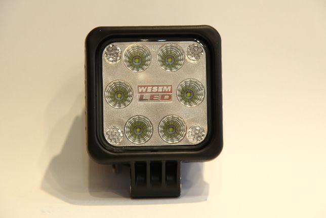 Lampa robocza LED , 100X100 12/24V WESEM 1500lm LED1F.47400