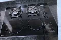 Placa para cozinhar a gás e Indução da Dietrich