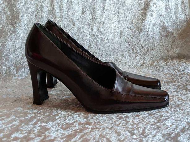Туфли кожаные винтажные Pierre Balmain (оригинал)