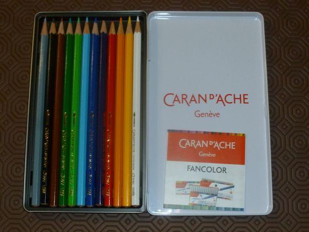 Caica lápis cor Caran d' Ache (12)