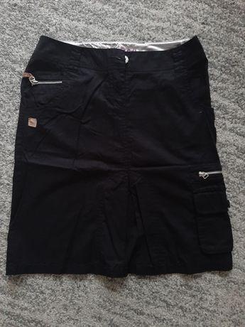 Deep spódnica damska sportowa czarna militarna rozmiar L kieszenie