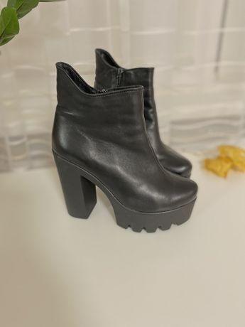 Ботильйони ботинки кожа 37 р