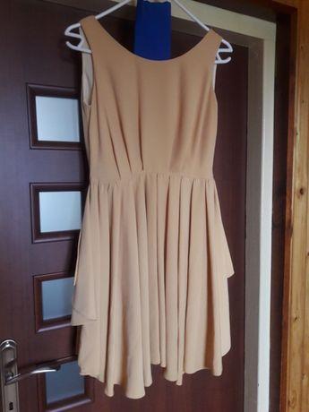 Sukienka na wesele bez pleców XS