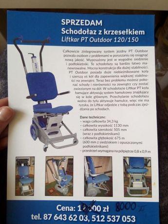 Schodołaz z krzesełkiem Liftkar PT Outdoor 120/150