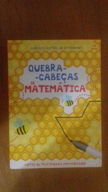 Jogo 'quebra-cabeças de matemática'