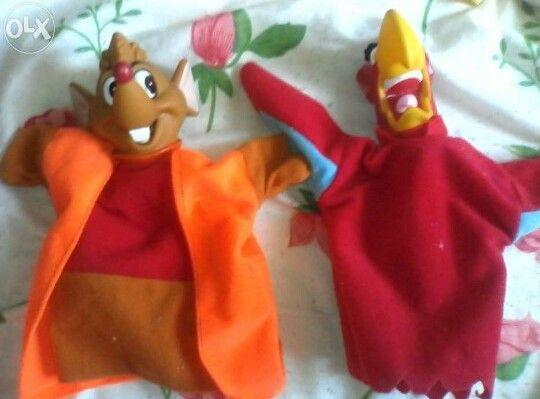 Яркие кукольные Disney игрушки на руку