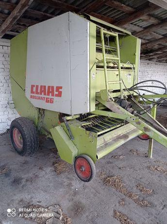 Продам тюкопрес,рулонний клас 66 Claas rollant 66