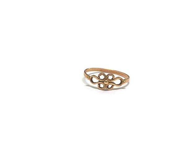 ZŁOTY pierścionek 585/1,13G r16