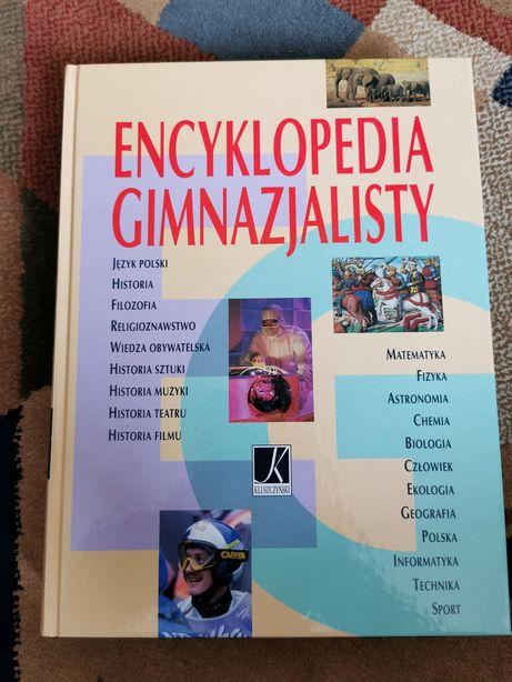 Encyklopedia Gimnazjalisty Twarda oprawa