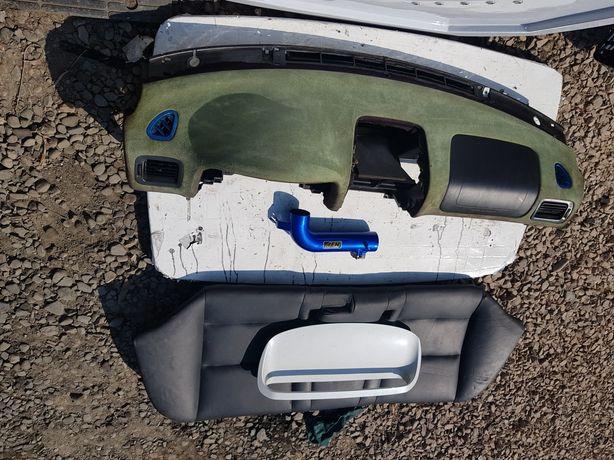 Subaru Impreza Deska Konsola Wlot Dolot Przepływomierz Zamsz Skóra sti