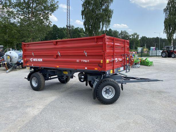 Przyczepa Metal Fach 6ton T710/1 Najtaniej w Polsce. Transport darmowy