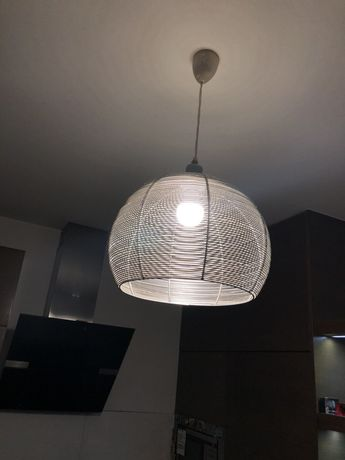 Lampa sufitowa + żarówka led