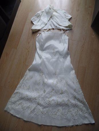 sukienka ślubna- ciążowa