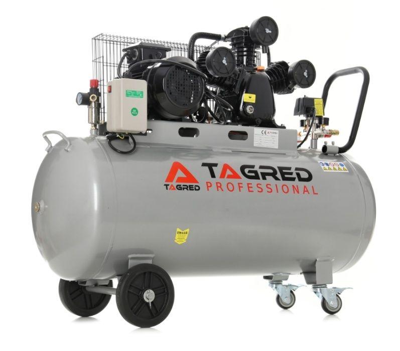 Kompresor olejowy, TAGRED TA309B 200L 400V 3 tłoki, DOSTAWA GRATIS*