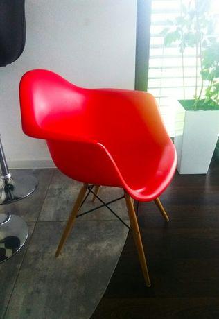 Krzesło czerwone 2szt.