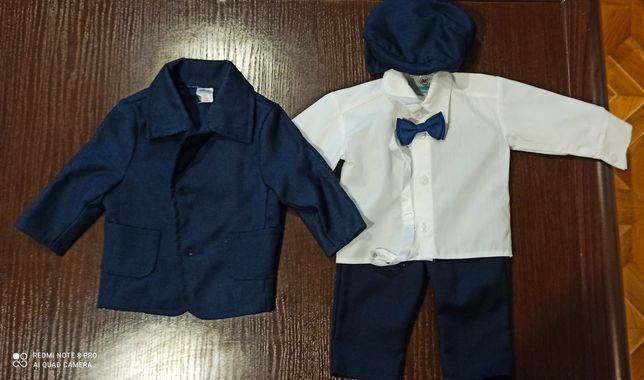 Ubranko do chrztu garnitur dziecięcy