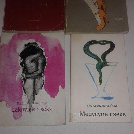 Seksuologia- różne książki