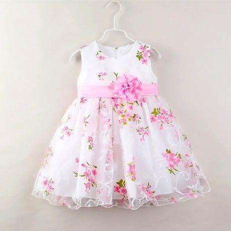 Пышное детское платье 1,5-2 года (86-92 см) НОВОЕ