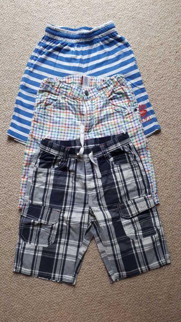 Chłopięce krótkie spodenki dla chłopca szorty 122 Palomino H&M