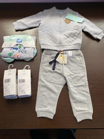Ubranka dla chłopca roz. 74 Nowe