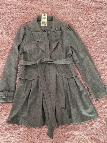 Пальто сіре Object C, розмір L