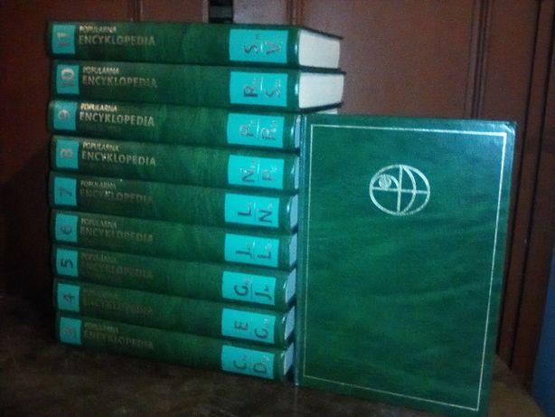 Encyklopedia Powszechna Popularna 10 tomów