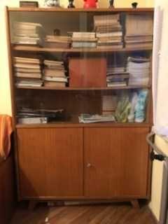 Biblioteczka drewniana, szafka
