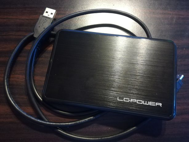 """Obudowa na dysk LC-POWER LC-PRO_25BU 2,5"""" USB 2.0"""