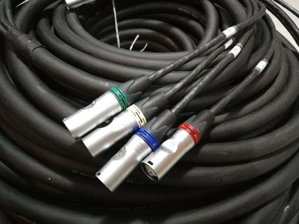 Skrętka CAT6 estradowy kabel logiczny 4xETHERNET KAT6 Neutrik TGP