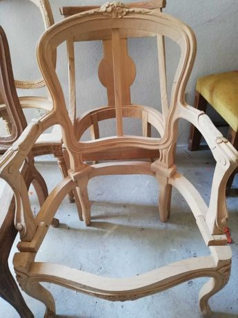 Cadeirao Faia (estrutura) estilo LUIS XV