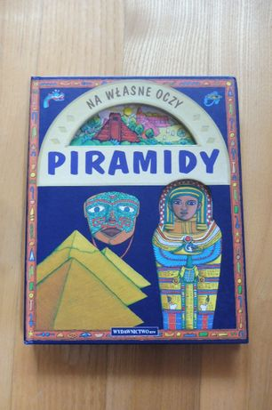 Piramidy książka dla dzieci