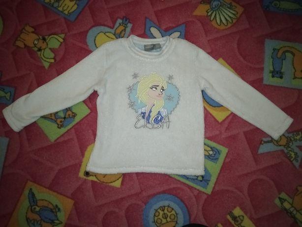 Bluza z polaru Elza kraina Lodu 3-4 lata