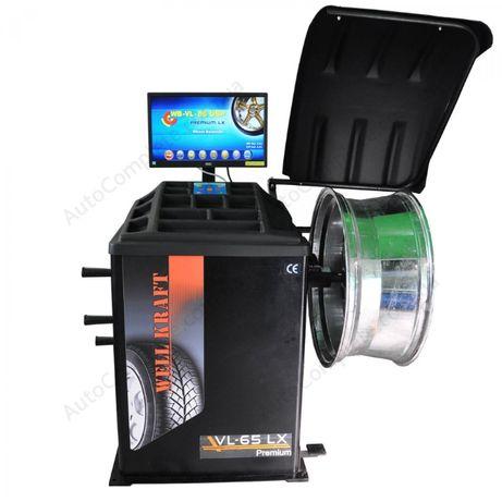 Балансировочный станок Well Kraft WB-VL-65 DSP LX 2D