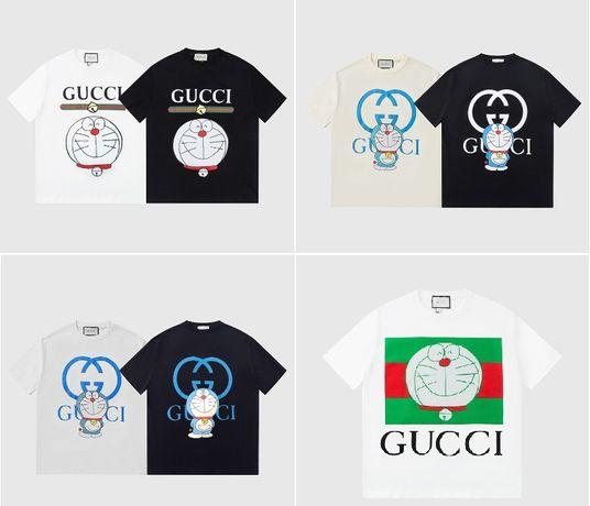 Футболки Gucci x Doraemon  ТОП качество!