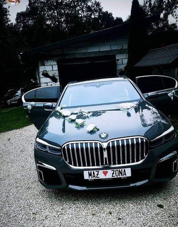 Zawiozę do Ślubu BMW 7 2019r