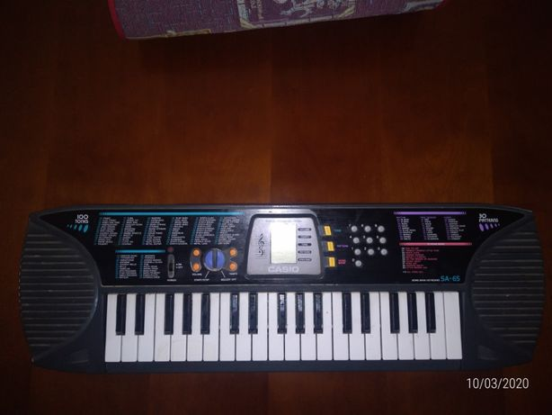 CASIO - Sound Bank Keyboard SA-65