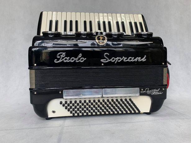 Akordeon włoski PAOLO SOPRANI Limited Edition 96 basów Idealny