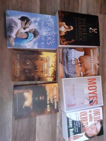 Książki rożnych autorów