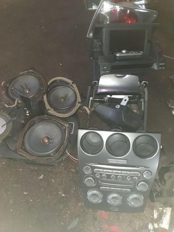 Mazda 6 radio głośniki DVD cały zestaw za 300zl TANIO