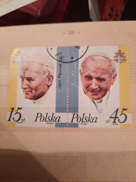 Znaczki polski kasowane 1987