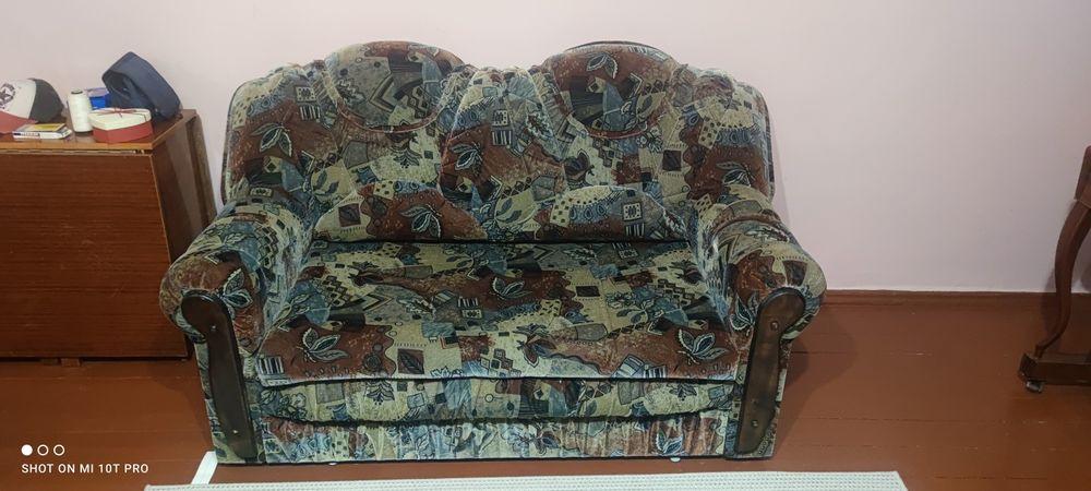 Раскладной диван с креслом Одесса - изображение 1