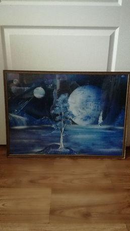 Obraz malowany sprayem 28,5x 21