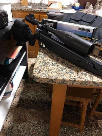 Mira telescopica arma espingarda carabina pressão ar pcp telescopia