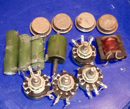 Конденсатори и прочие електро-радиодетали