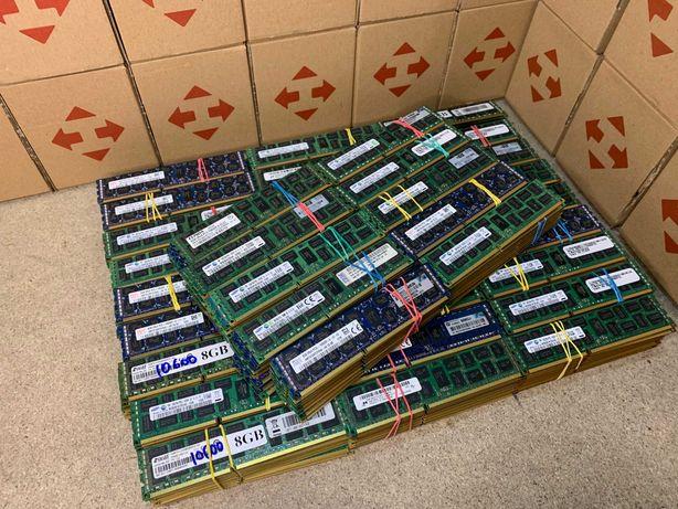 Серверная ОЗУ DDR3 8Gb 10600R 1333MHz ECC REG | Samsung Hynix Elpida