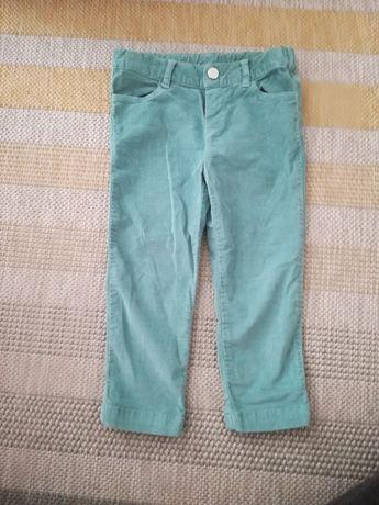 Spodnie sztruksowe Zara baby, roz. 86